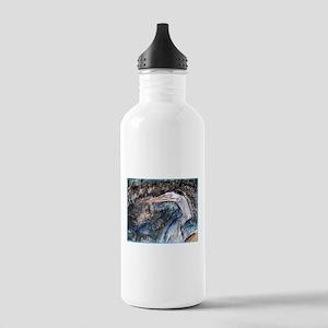 Crane, bird, art, Stainless Water Bottle 1.0L
