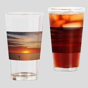 elph Hallett Cove,S.A. sunset Drinking Glass