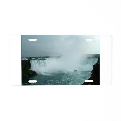elph Niagara Falls Aluminum License Plate