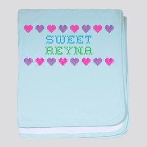 Sweet REYNA baby blanket