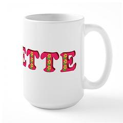 Annette Large Mug