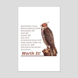 Falconry - Worth It! Mini Poster Print