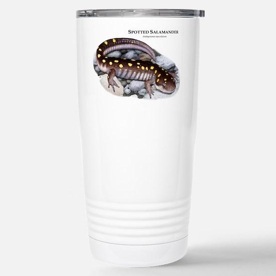 Spotted Salamander Stainless Steel Travel Mug