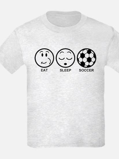 Eat Sleep Soccer T-Shirt
