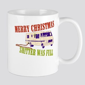 Shitter Was Full Mug