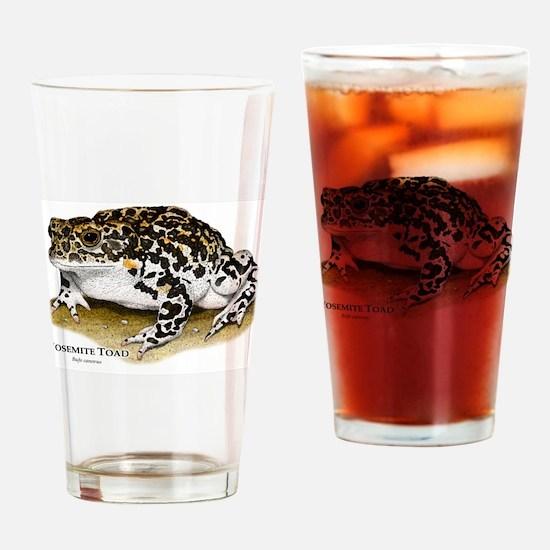Yosemite Toad Drinking Glass