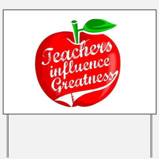 Education Teacher School Yard Sign