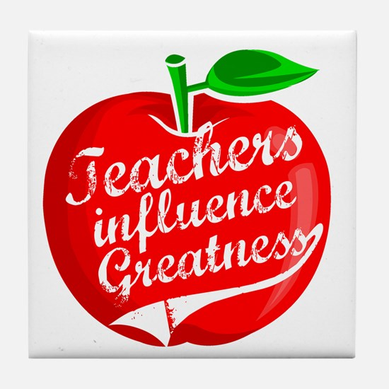 Education Teacher School Tile Coaster