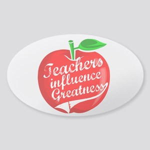 Education Teacher School Sticker (Oval)