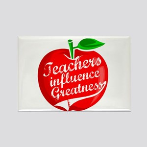 Education Teacher School Rectangle Magnet