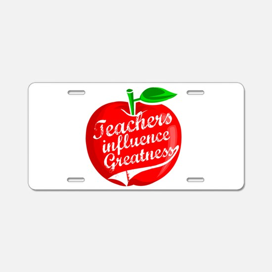 Education Teacher School Aluminum License Plate