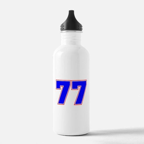 NUMBER 77 Water Bottle