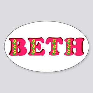 Beth Sticker (Oval)