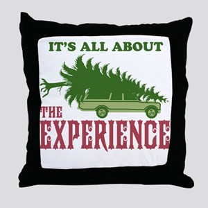 The Experience Throw Pillow