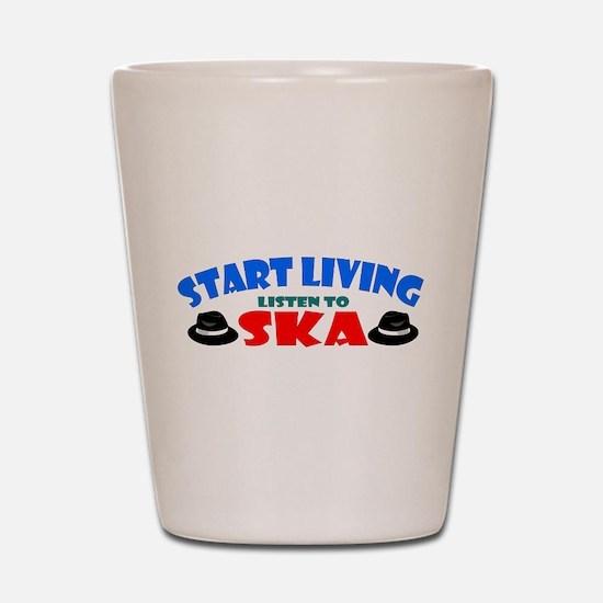 Start Living - Ska Shot Glass
