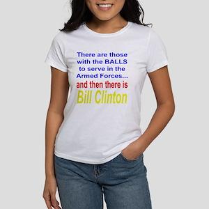 Bill Clinton Women's T-Shirt
