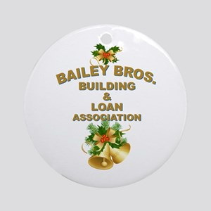 Bailey Bros Ornament (Round)