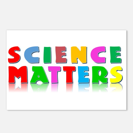 Science Matters Postcards (Package of 8)