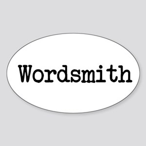 Wordsmith Sticker (Oval)