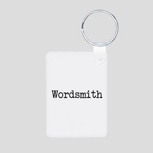 Wordsmith Personalized Photo Keychain