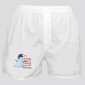 Smell Carrots Boxer Shorts