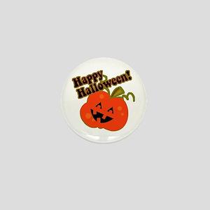 Funny Halloween Pumpkin Mini Button
