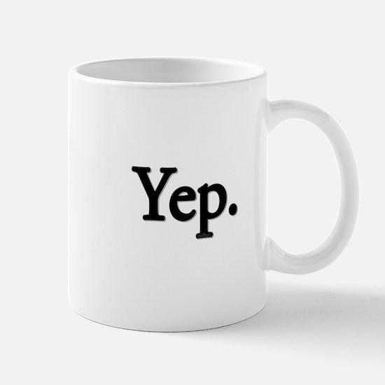 Yep. Mug