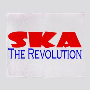 Ska The Revolution Throw Blanket