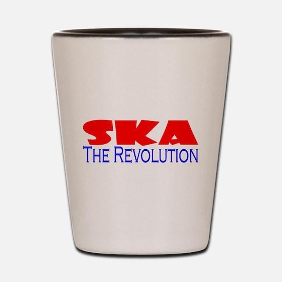 Ska The Revolution Shot Glass