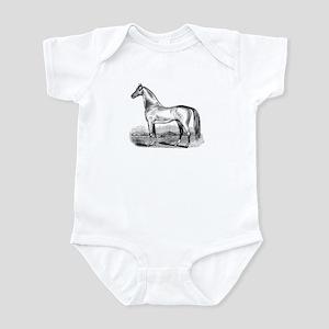 Quarter Horse Artwork Infant Bodysuit