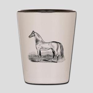 Quarter Horse Artwork Shot Glass