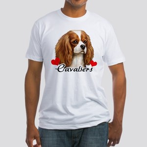 Love Cavaliers Fitted T-Shirt