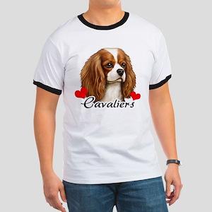 Love Cavaliers Ringer T