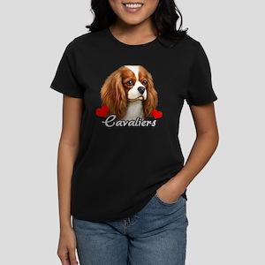 Love Cavaliers Women's Dark T-Shirt