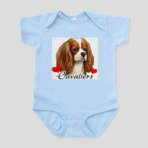 Love Cavaliers Infant Bodysuit