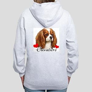Love Cavaliers Women's Zip Hoodie