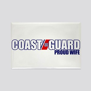 USCG Wife Rectangle Magnet