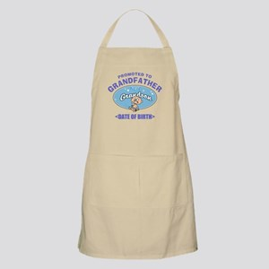 Personalized New Grandfather Grandson Apron