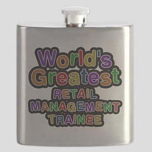Worlds Greatest RETAIL MANAGEMENT TRAINEE Flask