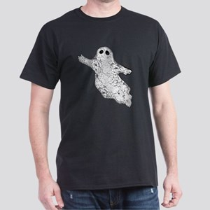 Worn, Vintage Ghost Dark T-Shirt