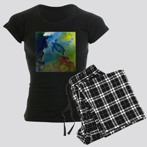 Below The Storm Women's Dark Pajamas