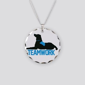 Therapy Teams Necklace Circle Charm