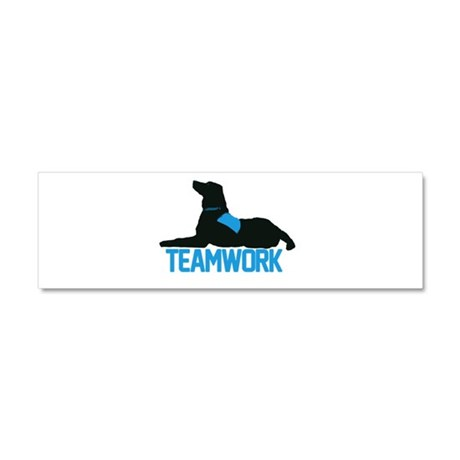 Therapy Teams Car Magnet 10 x 3