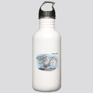 Snowy Owl Stainless Water Bottle 1.0L