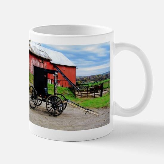Country Scene Mug