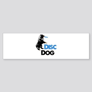 Disc Dog Sticker (Bumper)