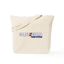 USCG Veteran Tote Bag