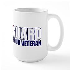 USCG Veteran Large Mug
