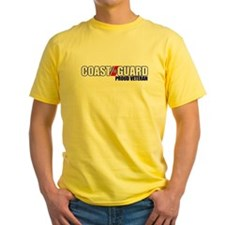 USCG Veteran Yellow T-Shirt