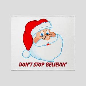 Don't Stop Believin' Throw Blanket